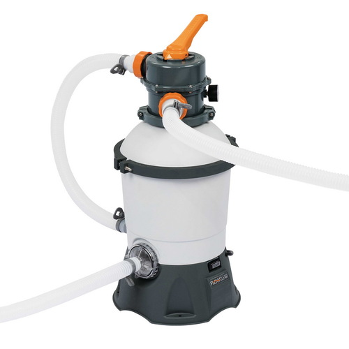 Bestway 530GPH Flowclear Sand Filter Swimming Above Ground Pool Cleaning Pump
