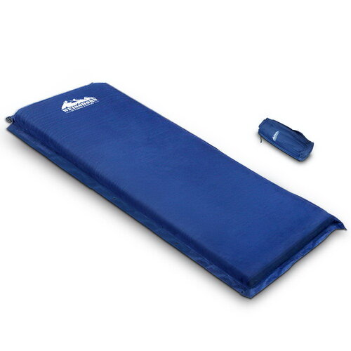 Weisshorn Single Size Self Inflating Matress - Blue