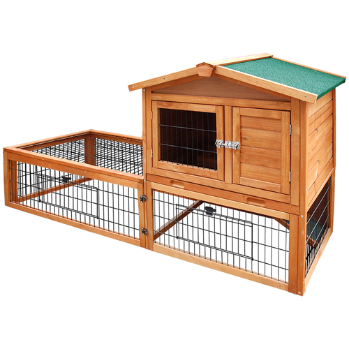 i.Pet 155cm Tall Wooden Pet Coop