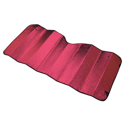 Reflective Sun Shade - Large [150cm x 70cm] - RED