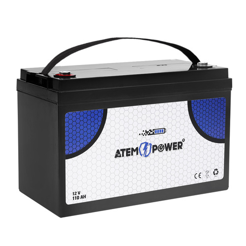 110AH AGM Battery 12V AMP Hour SLA Deep Cycle Dual Fridge Solar Power 12 Volt
